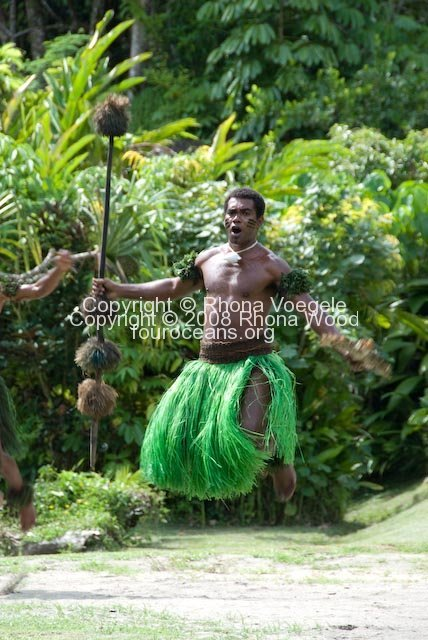 Fijian warriors